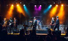 Concert du Big Yaz Explosion lors de la 3ème édition du Festival Chat'Pelle avec Eclectique Music Diffusion