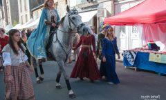 La Scénoféerie de Semblançay à la fête médiévale de Tours, le 25 septembre 2016
